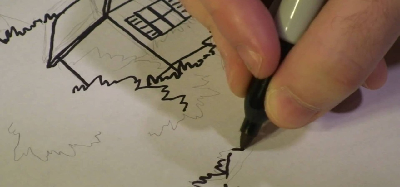 how to draw a treehouse step by8 draw