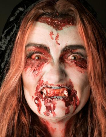 vampire makeup look. DIY vampire makeup is a