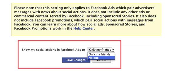 How To Remove Your Name and Profile Picture from Facebook's Social Ads