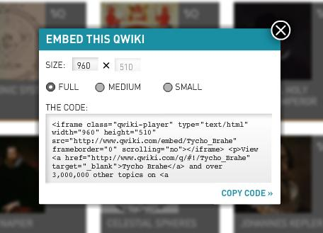 How To Use Qwiki (1-Minute Audio-Visual Summaries of Wikipedia Articles)