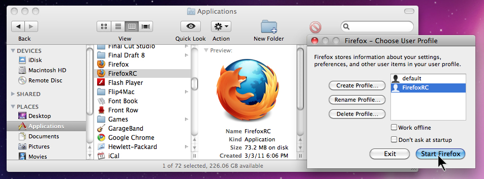How To Run Firefox 3 And 4 At The Same Time - Business Insider