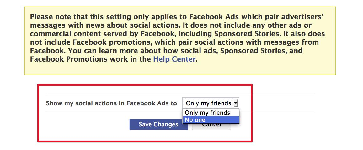 How To Stop Facebook From Using Your Name And Photo In Ads
