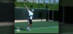 Perform a basic backhand shot