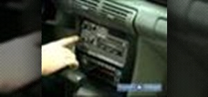Change a car stereo system