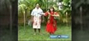 Hula dance for beginners