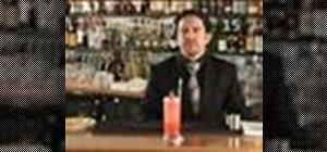 Make a Singapore Sling cocktail
