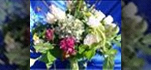 Make a Grecian urn arrangement