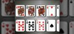 Determine Texas Hold'em hand rankings
