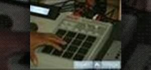 Use a MPC drum machine