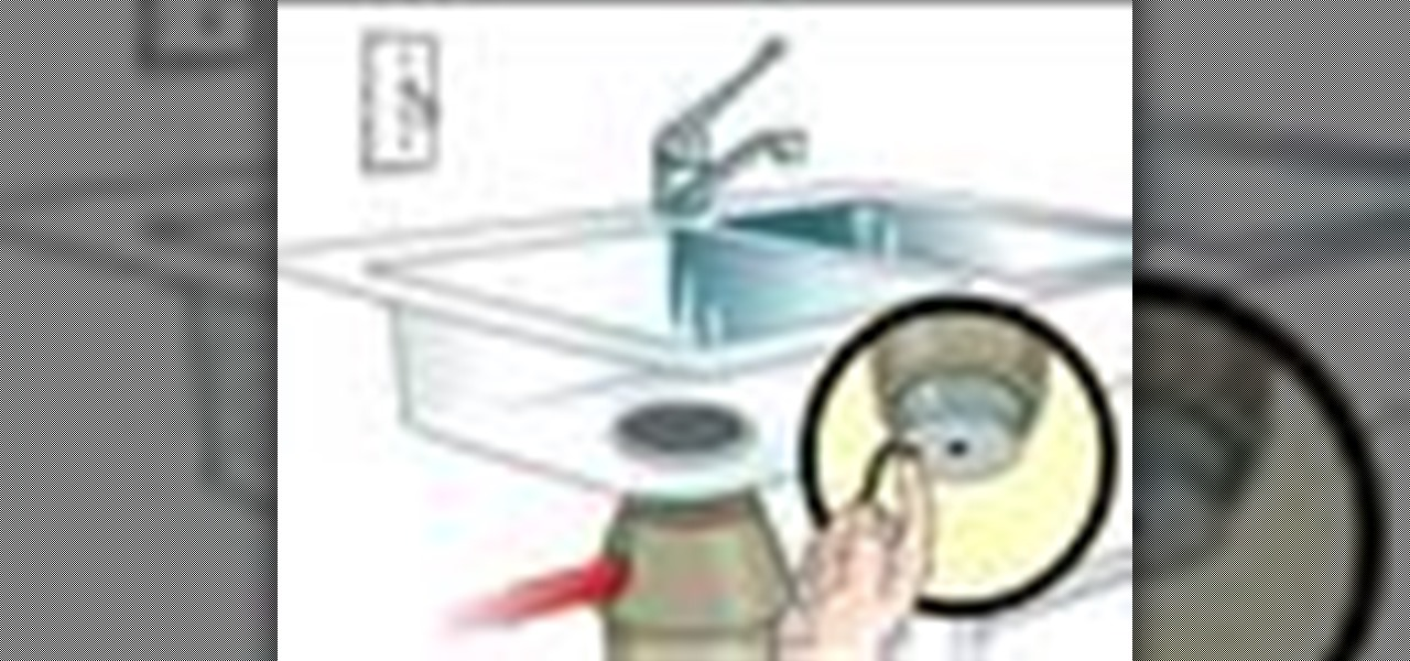 how to fix my jammed garbage disposal