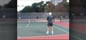 Play doubles in tennis