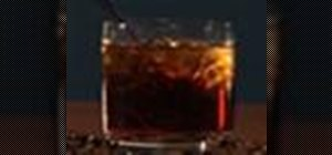 Make a great Black Russian drink