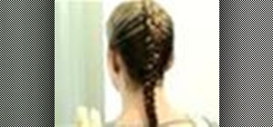 Dutch braid hair