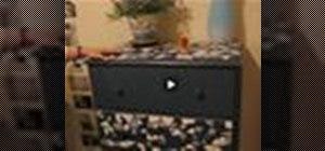 Mosaic a dresser