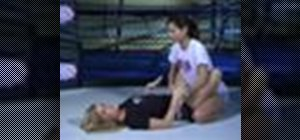 Do butterfly guard in mixed martial arts