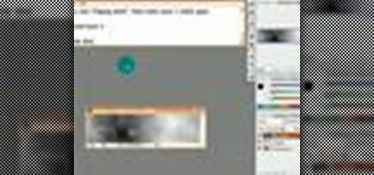 Masking Photoshop Cs3 images
