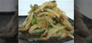 Make homemade Korean nappa cabbage kimchi