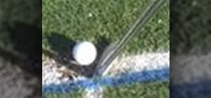 Correct a slice in golf