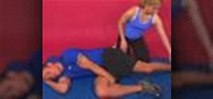 Exercise with the assisted hip flexors stretch
