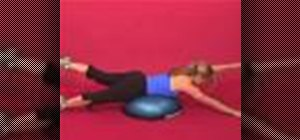 Exercise with superman on bosu w/ same side arm & leg