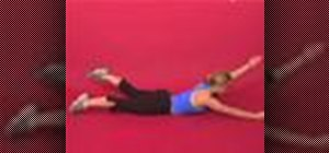 Exercise with alternating superman same side arm & leg