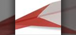 Origami an easy paper plane Japanese style