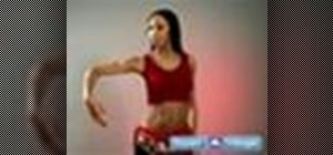 Perform the snake arms belly dance move