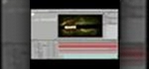 Begin to use Adobe After Effects