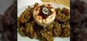 Make mushroom fritters recipe