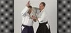 Defend against rear wrist grabs with Aikido Nikyo