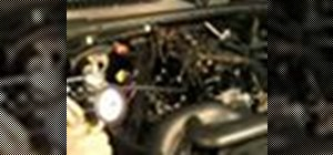 Test the pressure regulator system on your automobile