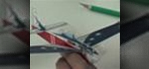 Assemble the Micro Racer P-51 R/C model aircraft