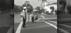 Teach children to safely walk to school