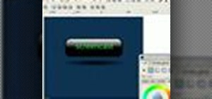 Create a web 2.0 style button in Inkscape