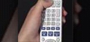Program the Panasonic remote DMR-ES15 (ES25) for TV's