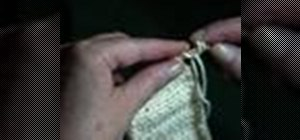 Attach an I-cord by knitting