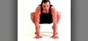 Do bakasana or crane pose for yoga