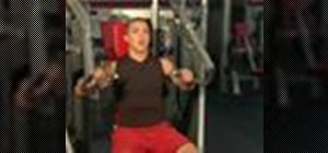 Do an iso-lateral incline press chest exercise