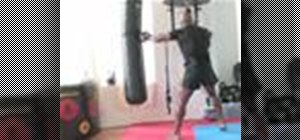 Jab in kickboxing