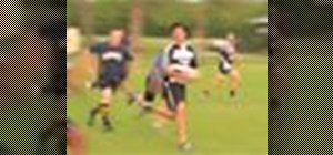 Play a game of rugby with the basic rules
