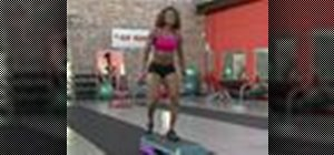 Perform an X-Step in cardio