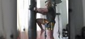 Do a kickboxing knee strike