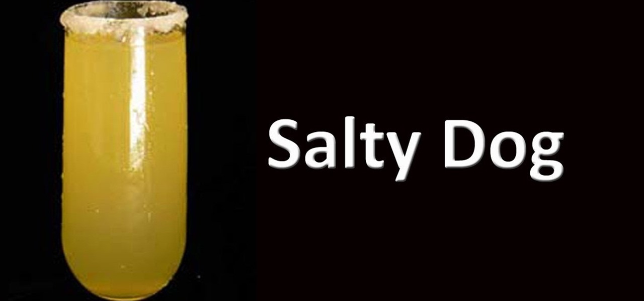 How To Make A Salty Dog Mix Drink