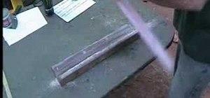 Make a foam core skimboard