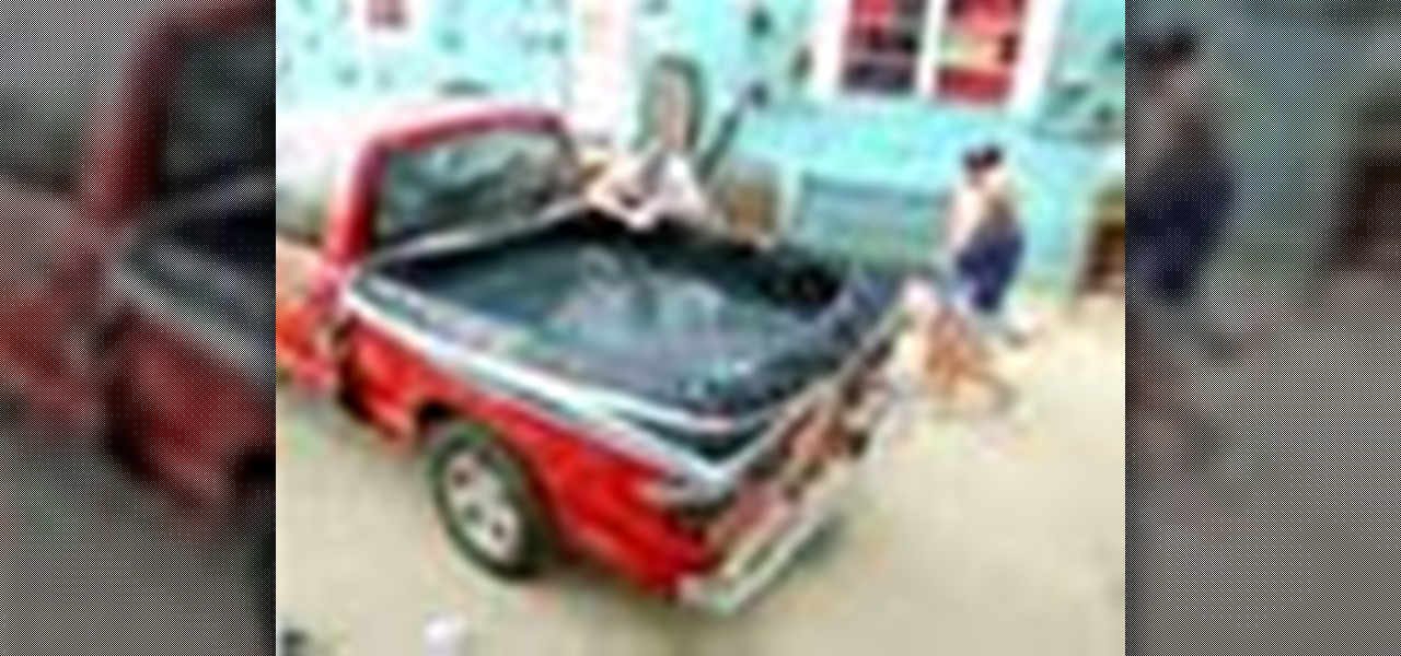 How to Turn a pickup truck bed into a hot tub « Car Mods :: WonderHowTo