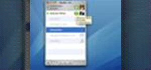 Use iChat in Mac OS X