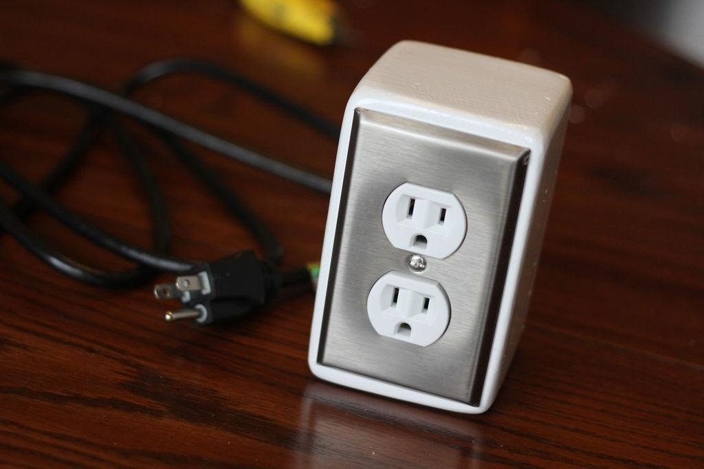 Hate Ugly-Looking Power Strips? Make This Sleek DIY Power Outlet Box for Your Desktop