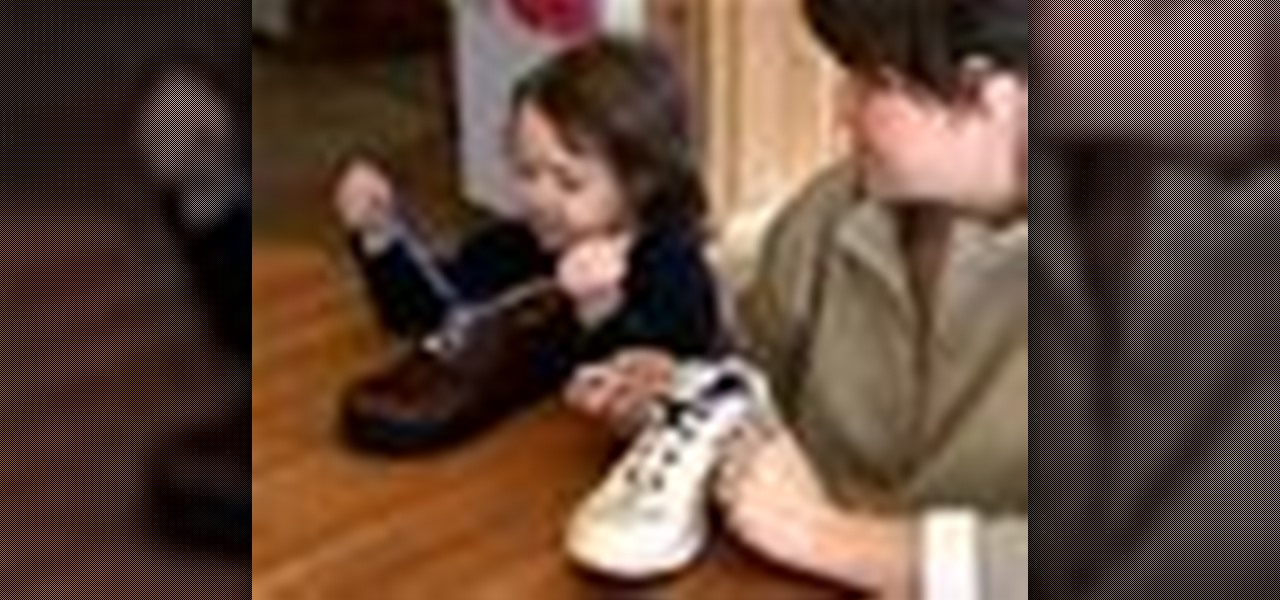 How to Teach kids how to tie shoes   Parenting