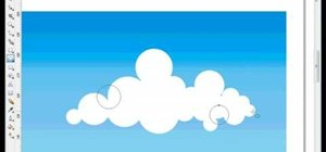 Draw vector clouds in CorelDRAW X4