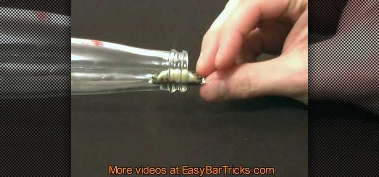 Cap And Glass Magic Trick